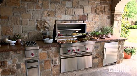 modular outdoor kitchen cabinets  rtf systems youtube