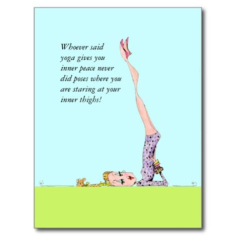 Funny Yoga Birthday Quotes