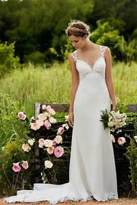 Robe De Mariage Champetre : 1001 jolis mod les de robe de mari e empire pour une allure sublime ~ Preciouscoupons.com Idées de Décoration