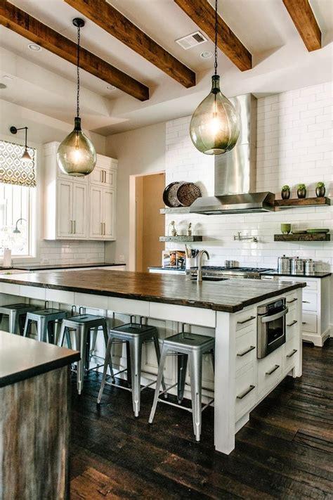 best 25 industrial farmhouse kitchen ideas on