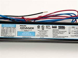 Philips Advance Electronic Ballast 120v To 277v For  2  F32t8