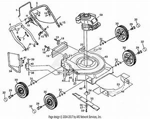 Poulan Ppt730s Mower Parts Diagram For Mower Assembly