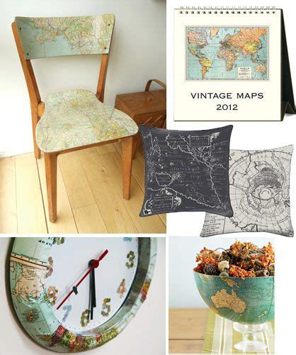 Decorate With Maps Ideas How Skimbaco Lifestyle