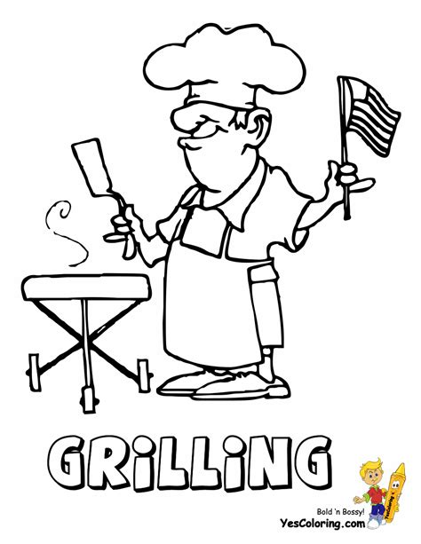 rugged usa coloring pages america    july
