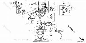 Honda Small Engine Parts Gx160 Oem Parts Diagram For Carburetor  1