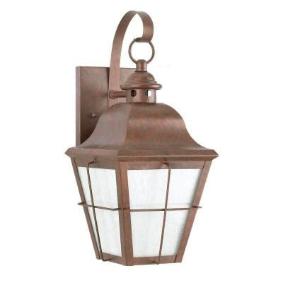 sea gull lighting chatham 1 light outdoor weathered copper