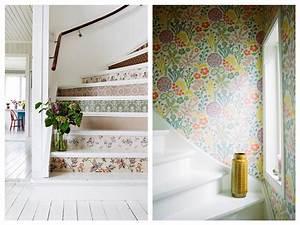 5 bonnes idees deco pour pimper une cage d39escalier joli With peindre des escalier en bois 3 metamorphoser un escalier poser des contremarches