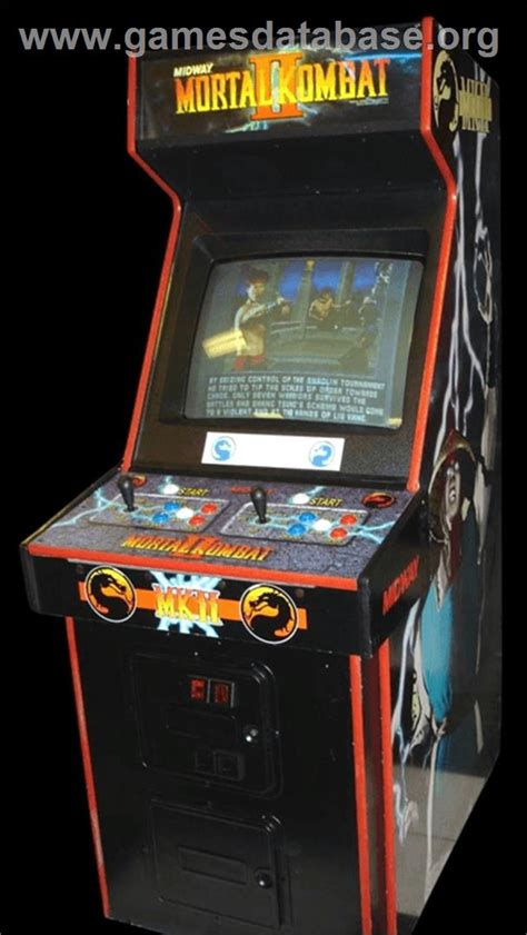 Mortal Kombat Arcade Cabinet by Mortal Kombat Ii Arcade Database