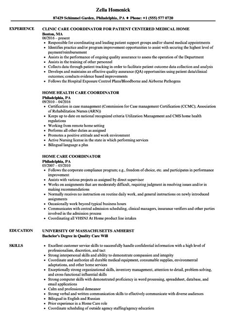 Hha Resume by 13 Home Health Care Resume Template Format