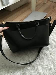 Schwarze Tasche H M : h m tasche schwarz mit goldenem schloss ~ Watch28wear.com Haus und Dekorationen