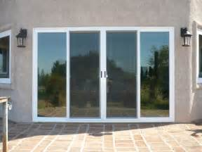 amazing four panel sliding patio doors door 4 panel