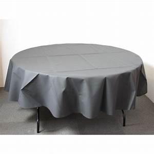 Nappe Ronde Grise : nappe ronde intiss 240cm id f tes ~ Teatrodelosmanantiales.com Idées de Décoration