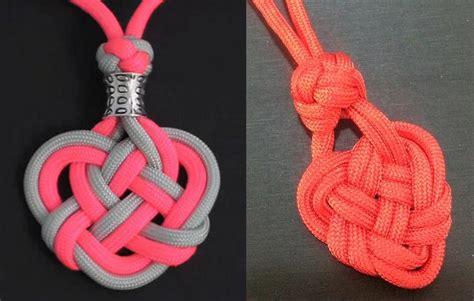 faire un noeud celtique en forme de coeur