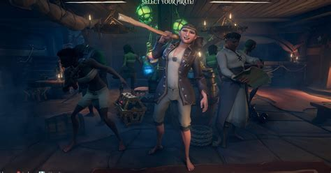 sea  thieves character creator wont
