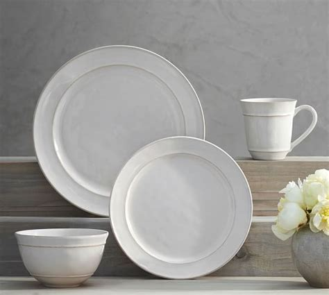 pottery barn dinnerware cambria 16 dinnerware set pottery barn