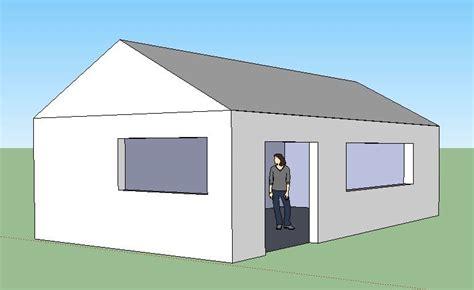 dessiner une maison 3d avec l outil quot pousser tirer quot de sketchup et vos dix doigts