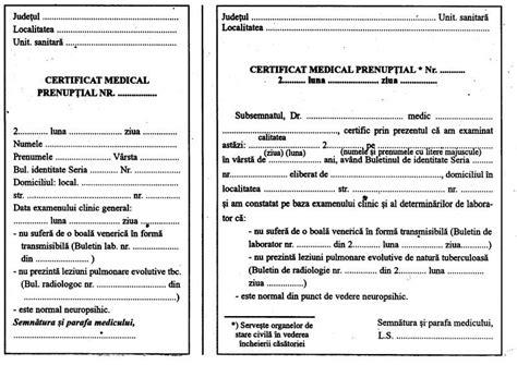 Télécharger le modèle de certificat médical prénuptial