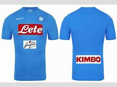 Napoli Jersey 20172018 Home, Away And Third Kits Released