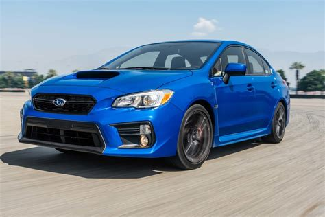 subaru wrx 2018 subaru wrx first test review motor trend