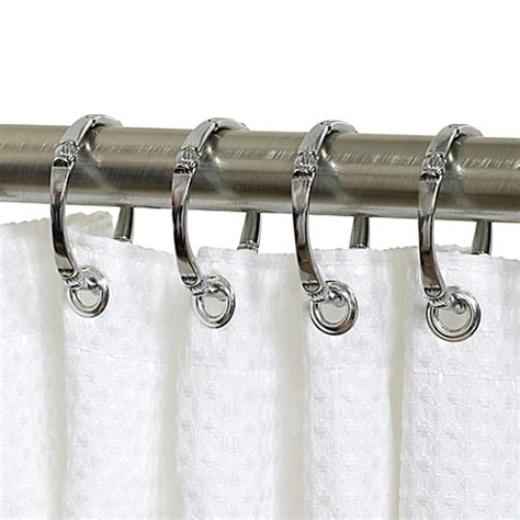 titan neverrust shower curtain rings set of 12