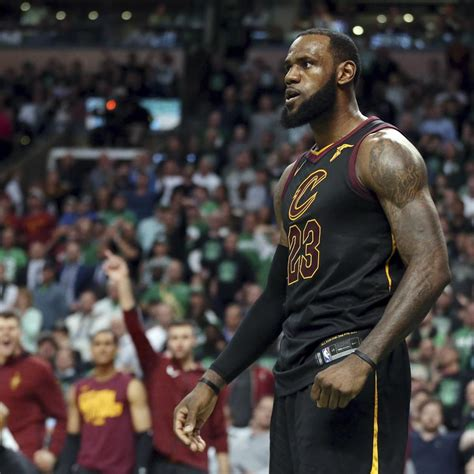 LeBron James Reaches NBA Finals for 8th Time in a Row as ...