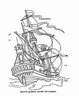 Coloring Pages Pirate Pirates Caribbean sketch template