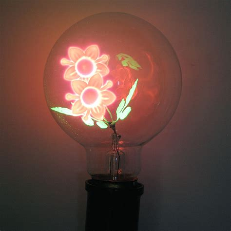flowers in light bulbs damar 47074 quot flower sunflower quot g25 medium base