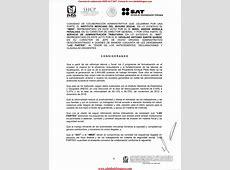 Convenio de Colaboración Administrativa IMSSSAT