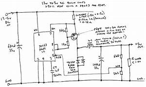 12v To 5v Dc High Efficiency Smps Buck Converter Using