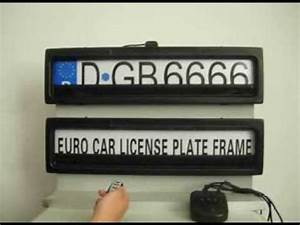 Plaque D Immatriculation Anti Radar : plaque anti radar voiture youtube ~ Maxctalentgroup.com Avis de Voitures