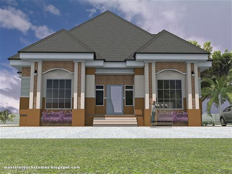 3 Bedroom Bungalow  Modern And Contemporary Nigerian