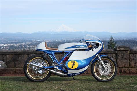 Suzuki Titan 500 by Suzuki T500 Road Race Tribute By Weberwerks Bikebound
