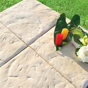 Terrasse Sur Sable : dalles dalles bradina 50 x 50 x 2 5 cm jardi discount ~ Melissatoandfro.com Idées de Décoration