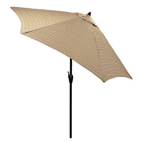 plantation patterns 9 ft aluminum patio umbrella in