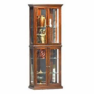 double door curio cabinet
