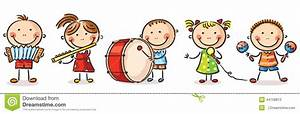 Musical clipart child music - Pencil and in color musical ...
