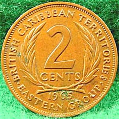 british caribbean territories  cent coin  uk