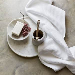 Spa Cloud Waffle Towels Towels Bath Sheets The White