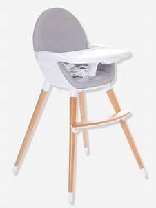 Chaise Haute Pour Bébé : chaise haute volutive 2 hauteurs topseat gris vertbaudet ~ Dode.kayakingforconservation.com Idées de Décoration