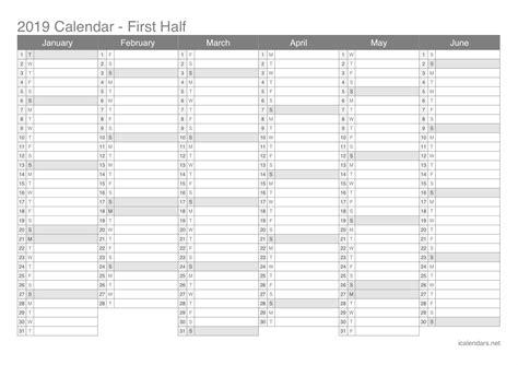 printable calendar excel icalendarsnet