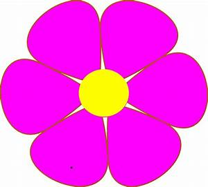 Clipart Pink Flower   Clipart Panda - Free Clipart Images