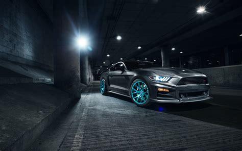 Roush Ford Mustang Vossen Wheels 2 Wallpaper