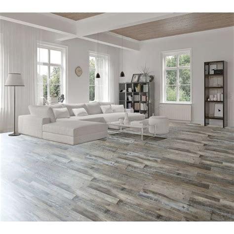 shop goodfellow  piece      weathered barnwood oak luxury vinyl plank  lowes