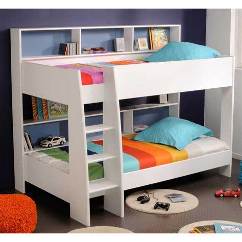 lit superposé avec bureau pas cher lit superpose avec escalier