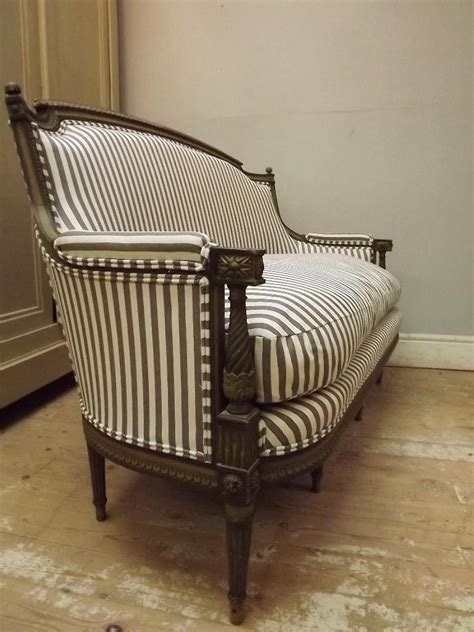 Antique Furniture Upholstery by File Settee Ticking Fabric Upholstery Jpg Wikimedia Commons