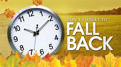 time year daylight savings ends standout