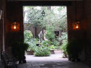 Old New Orleans Courtyard
