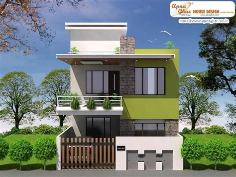 Top Photos Ideas For Modern Duplex House Plans by Simple Modern Duplex House Design In 920 Square Click