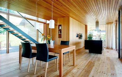austrian wooden houses timber clad    modern house designs