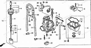 Honda Motorcycle 1998 Oem Parts Diagram For Carburetor